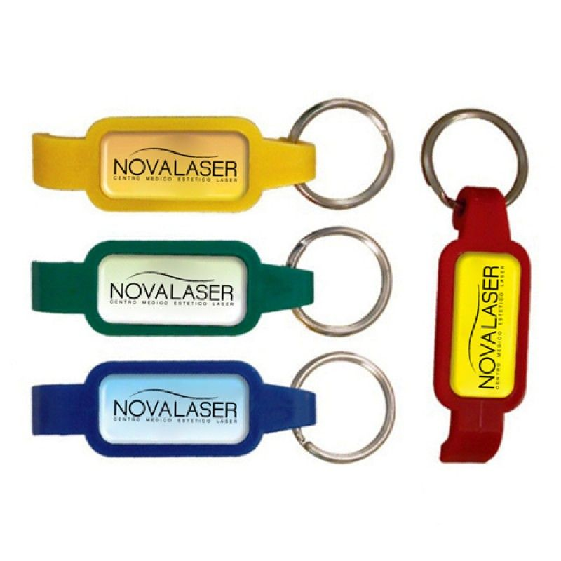 Wholesale Epoxy Dome Bottle Opener Keychain