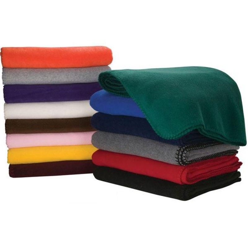 "Wholesale Econo Fleece Blanket (50"" x 60"")-[FP-29100]"