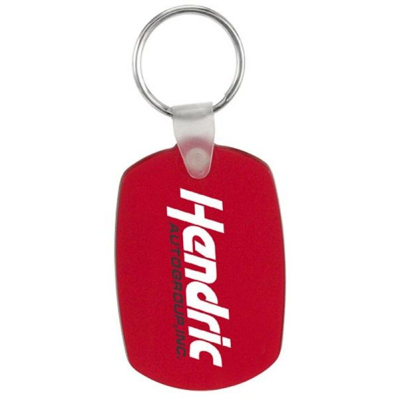 Wholesale Oval Soft Squeezable Key Tag-[CP-27072]