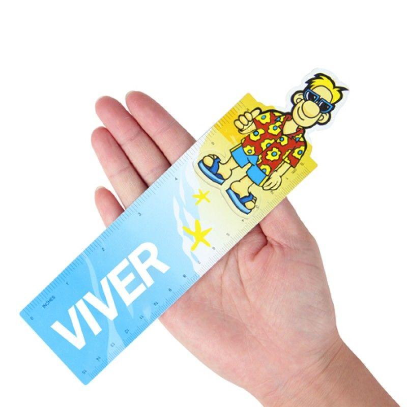 Wholesale 15cm Customize Shape Plastic Ruler
