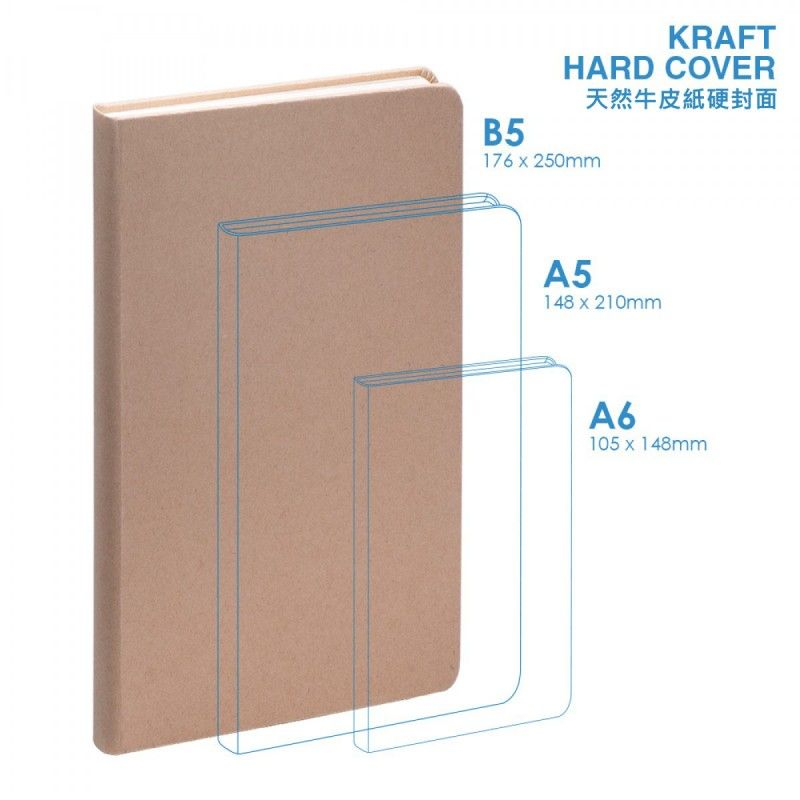 Wholesale Eco B5 Hard Cover Notebook