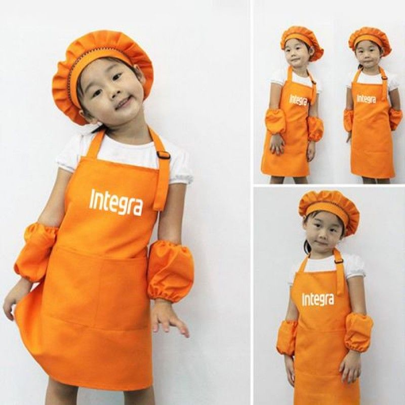 Wholesale Adjustable Children Cooking Aprons