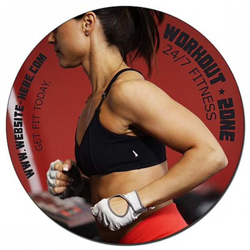 Wholesale 5 Inch Round Car Magnet-[SP-9005]