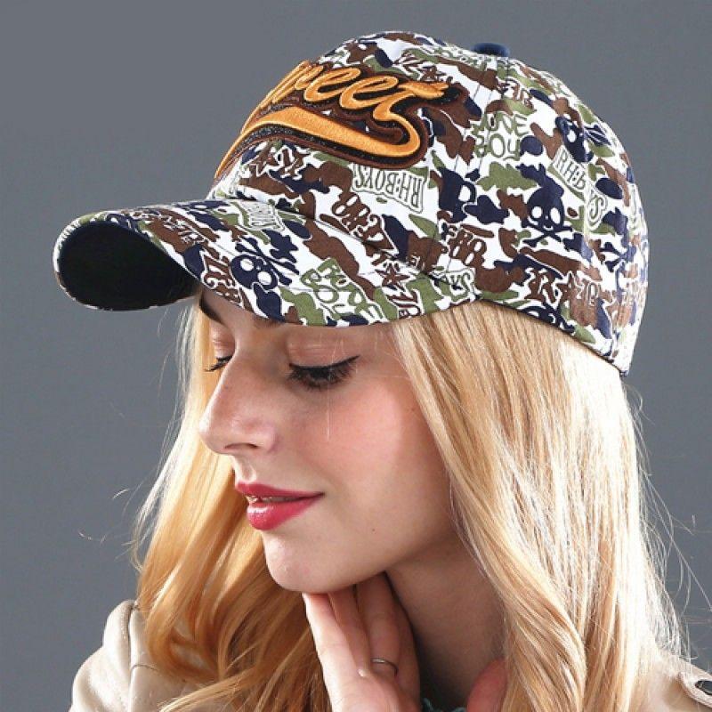 Wholesale Fashionable Cotton Camouflage Cap
