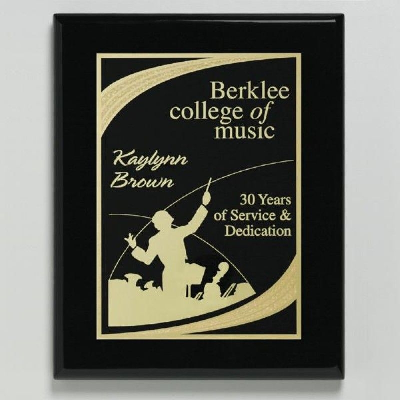 Wholesale Aberdeen Black Plaque-[CD-28006]