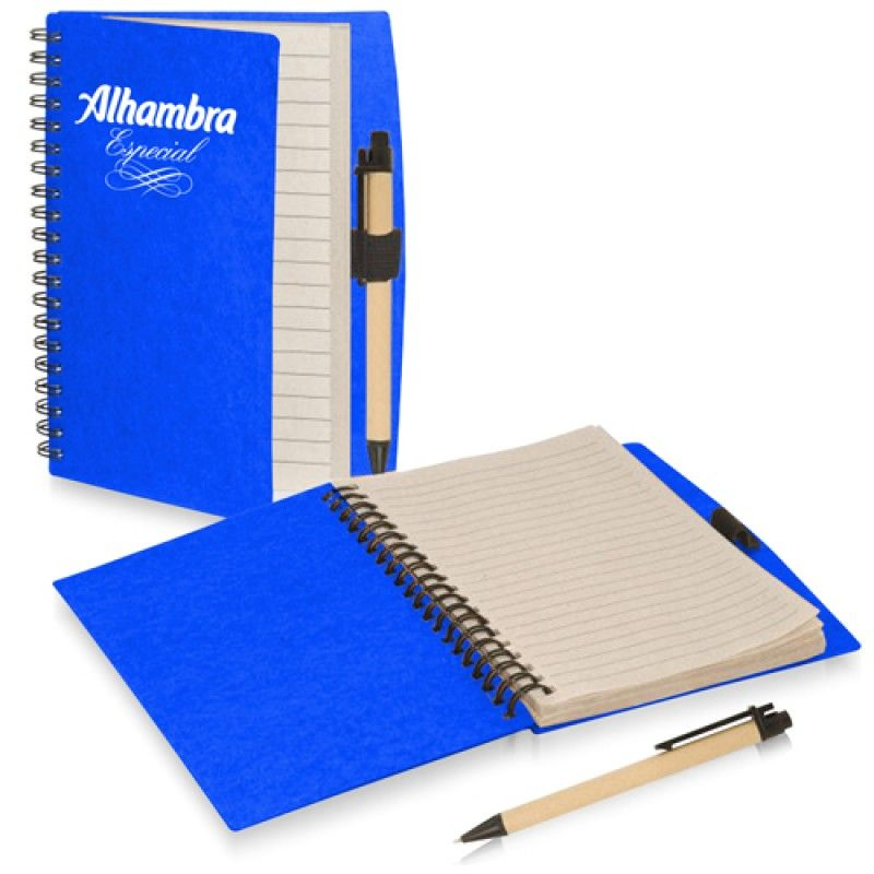 Wholesale 70 Sheet Spiral Notebook With Pen