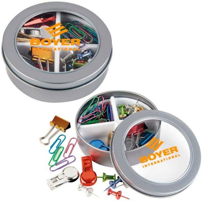Wholesale Stationery Set in Metal Box-[NW-91949]
