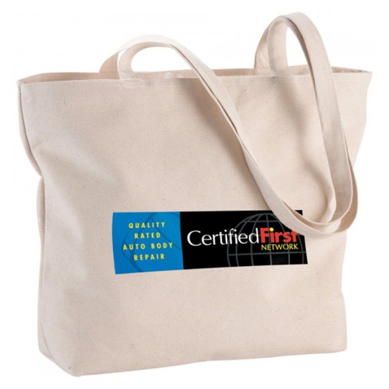 Wholesale Canvas Cotton Fold-able Shopping Bag