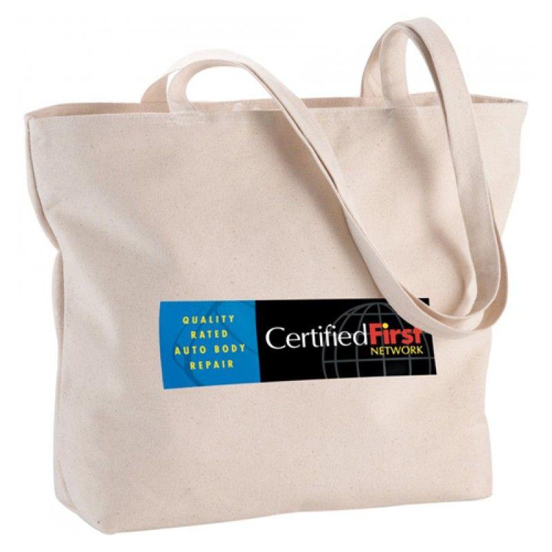 Wholesale Canvas Cotton Fold-able Shopping Bag