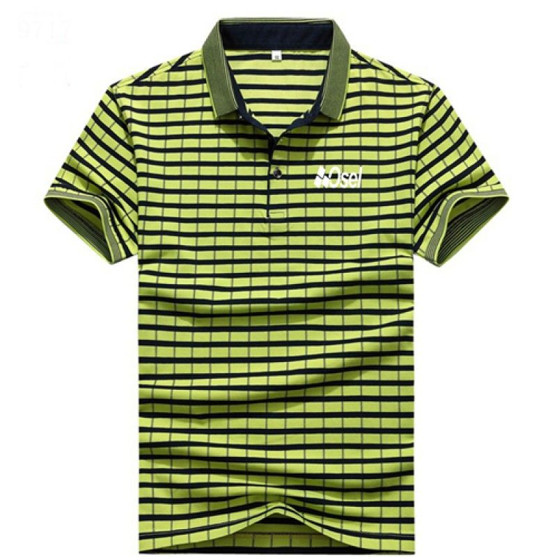 Wholesale Cotton Solid Mens Polo Shirt