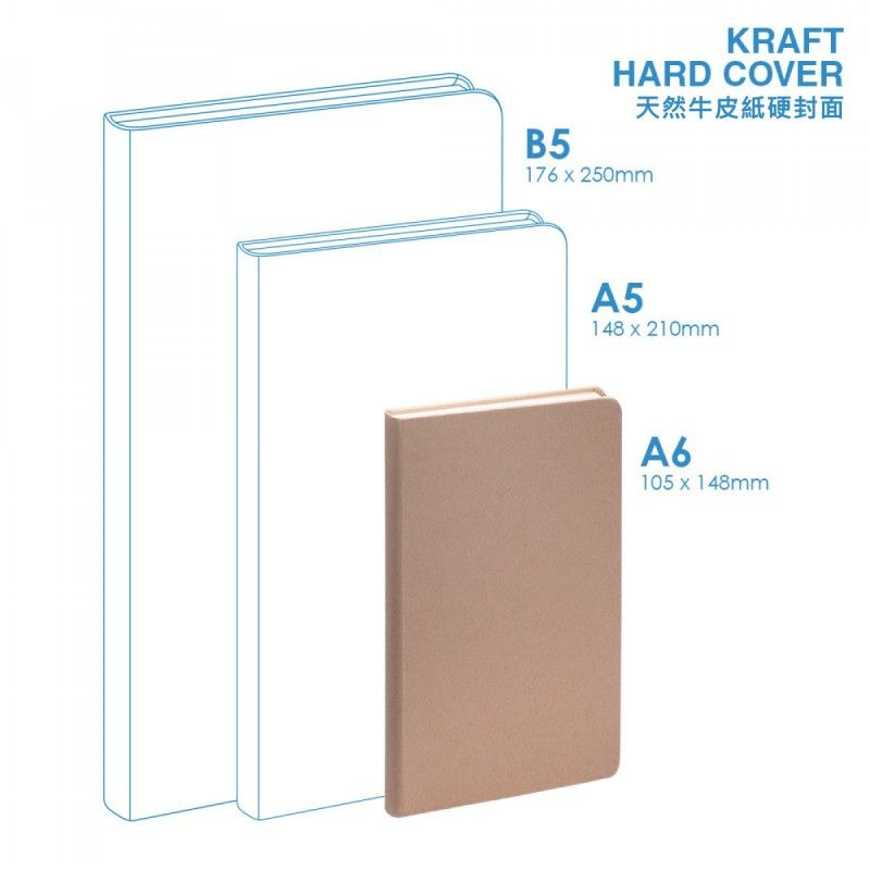 Wholesale Eco A6 Hard Cover Notebook