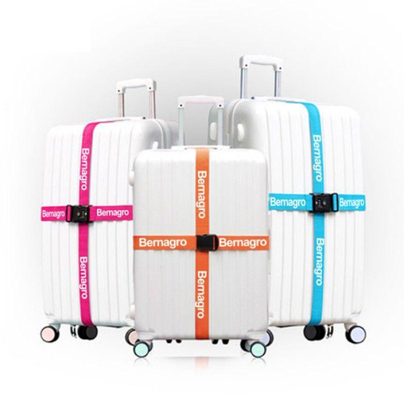 Wholesale Three Layer Password Lock Luggage Strap