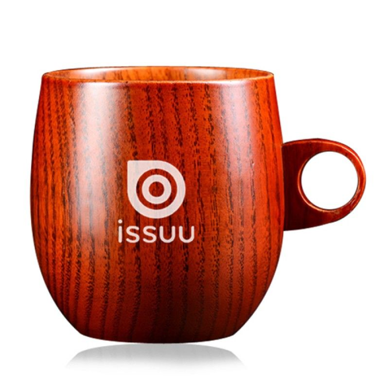 Wholesale Zizyphus Jujube Wood Beer Mug