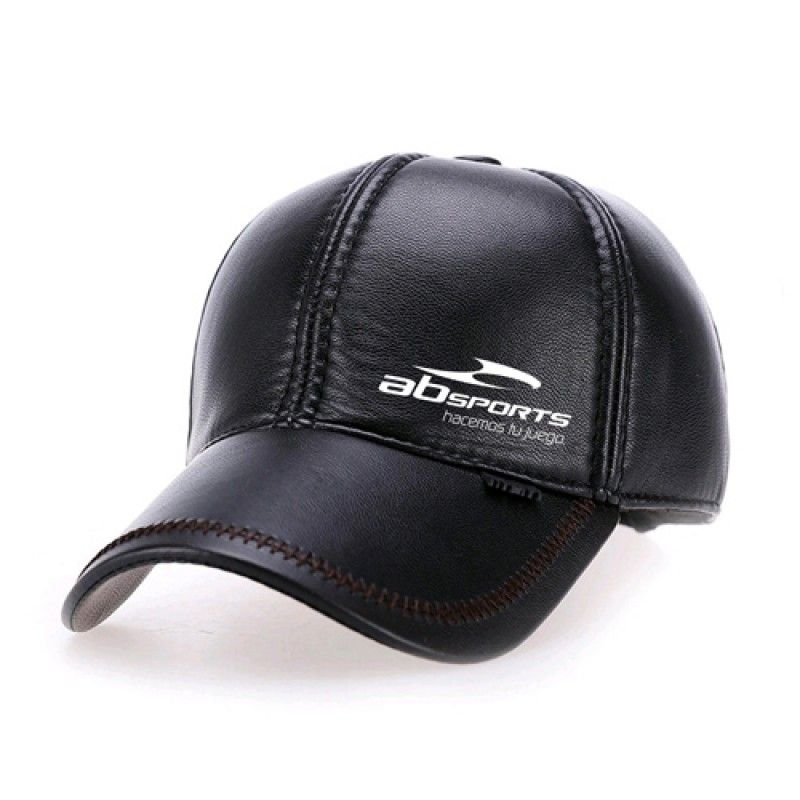 Wholesale Baseball Winter Leather Cap