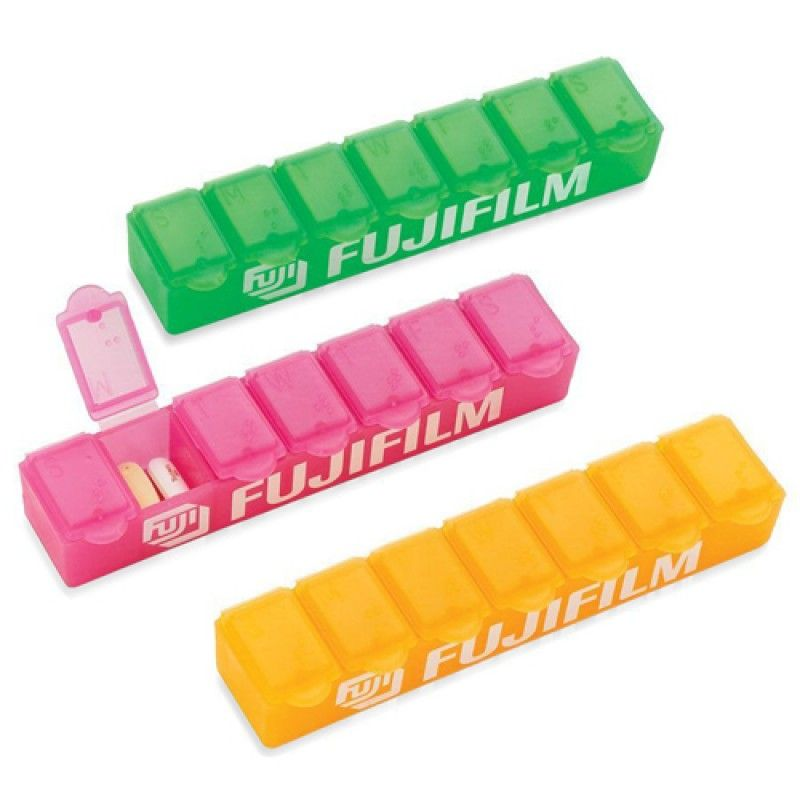 Wholesale Translucent Weekly 7 Days Pill Box