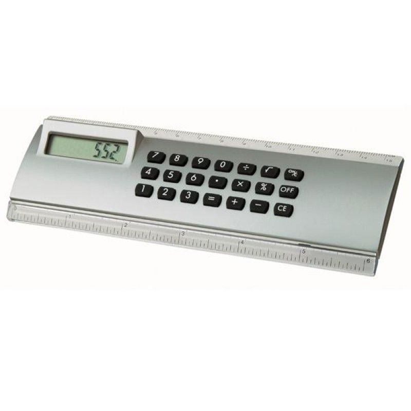 Wholesale Mini Calculator Ruler-[LM-28001]