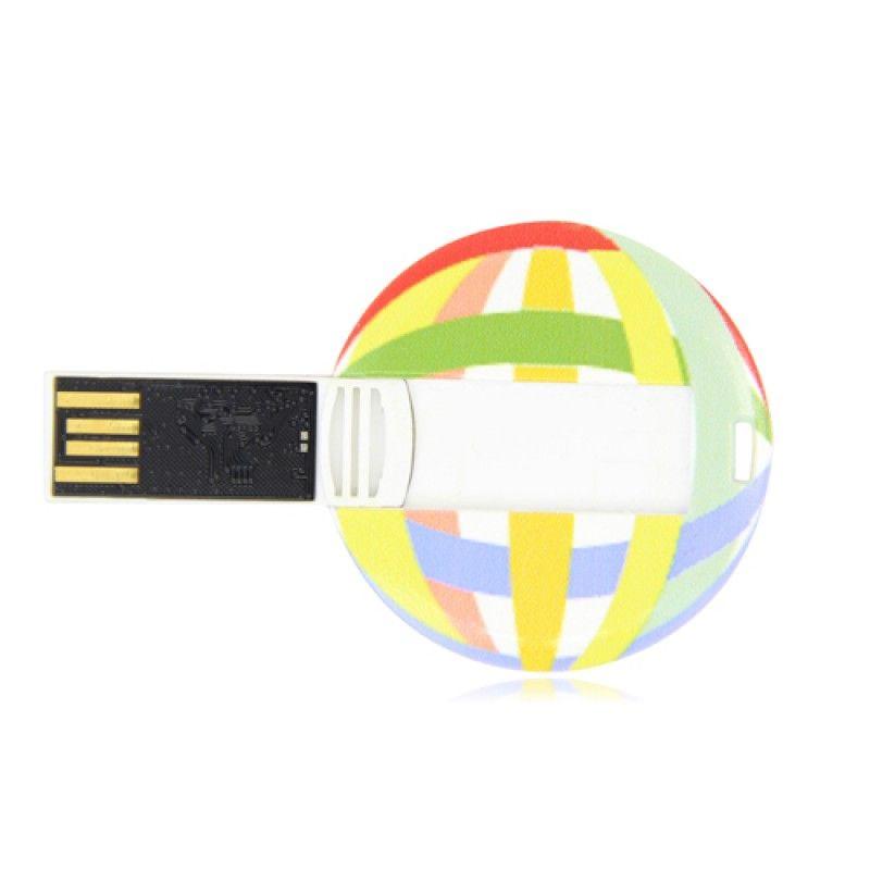 Wholesale 32GB Flat Round Flash Drive