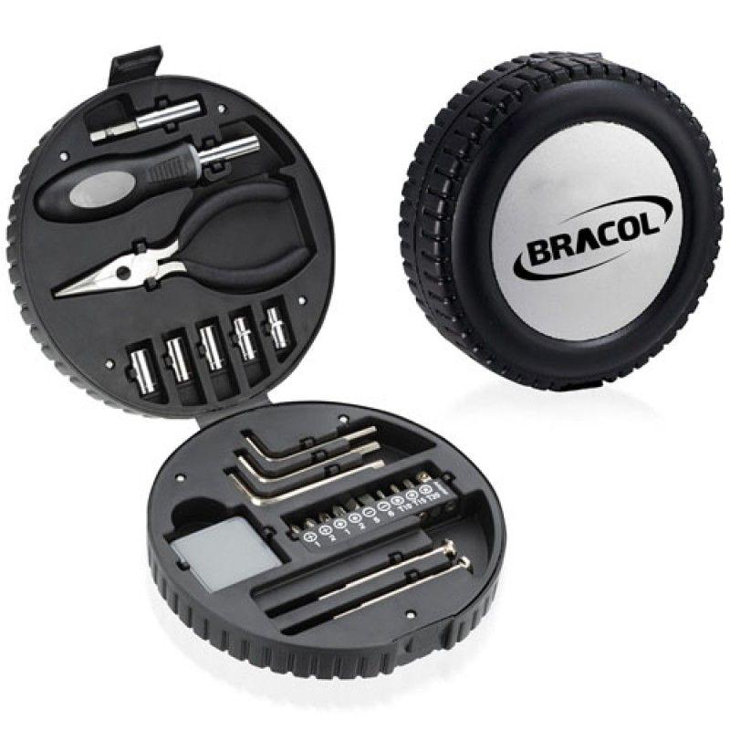 Wholesale 24 Piece Tire Shaped Tool Kit