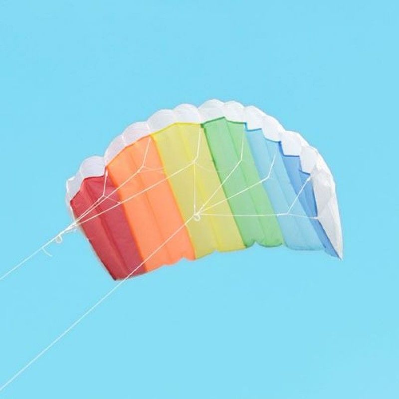 Wholesale Parachute Dual Line Kite With Control Bar