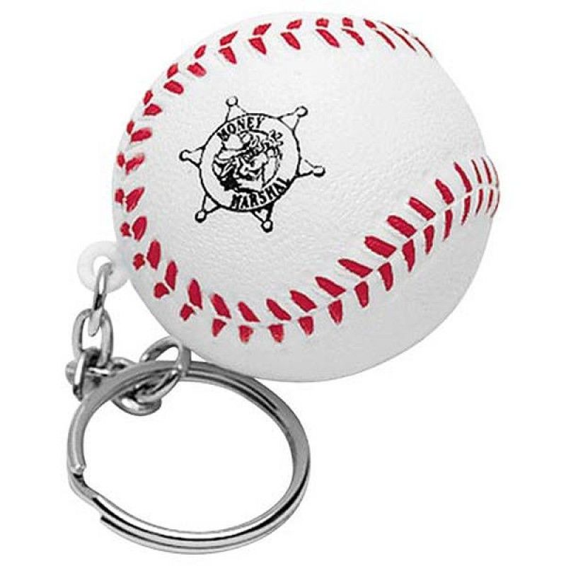 Wholesale Baseball Keychain Stress Reliever-[AL-28008]