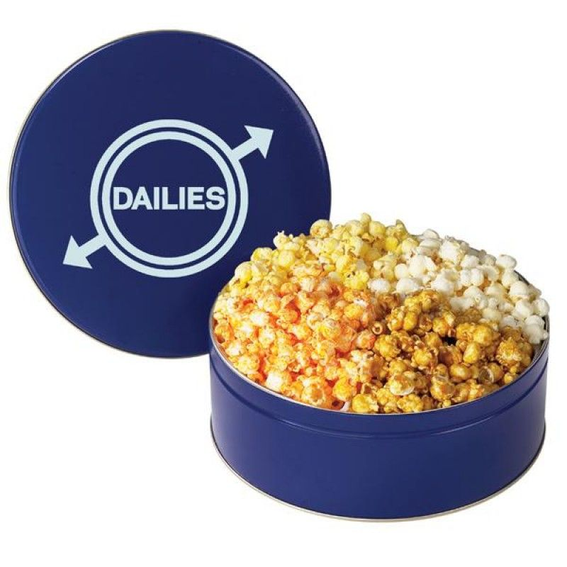 Wholesale 4 Flavor Popcorn Tin-[MS-28004]