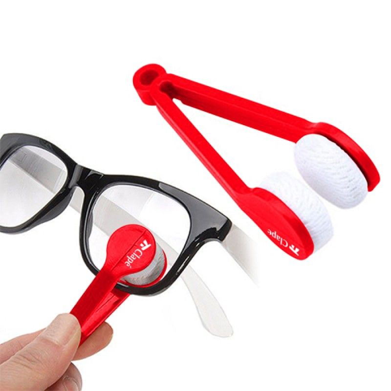 Wholesale Plastic Microfiber 5 Pieces Sunglasses Cleaner