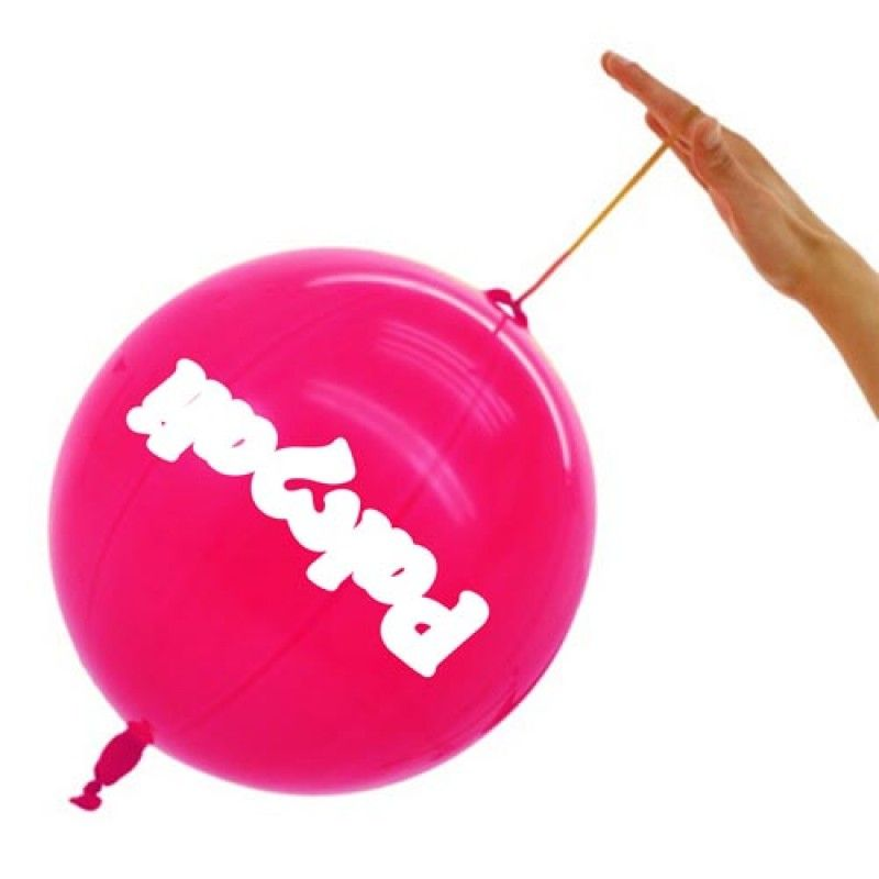 Wholesale 14 Inch - Rubber String Punch Balloon