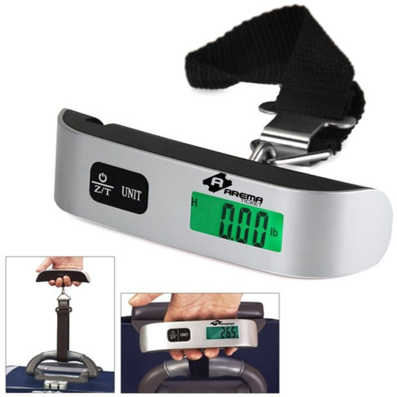 Wholesale Mini LCD Digital Luggage Hanging Scale