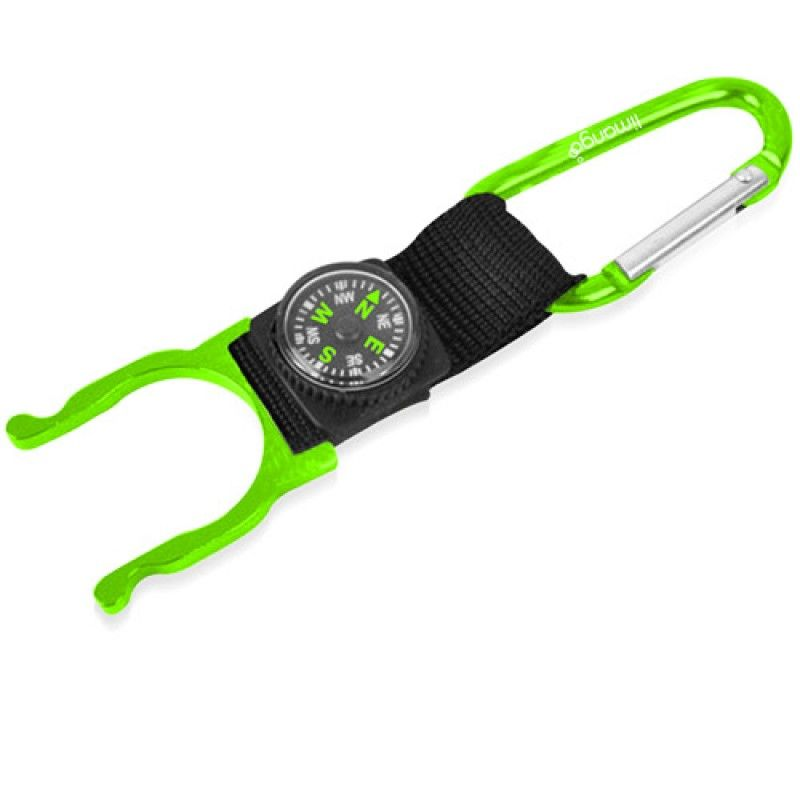 Wholesale Bottle Holder Carabiner With Compass