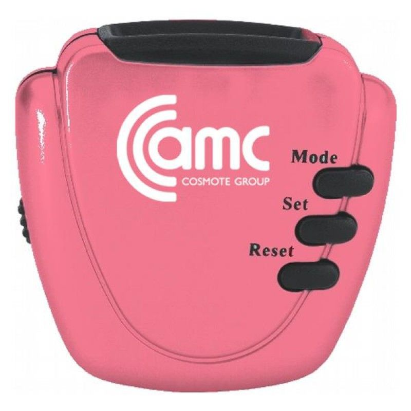 Wholesale Pink Pacesetter Pedometer-[EM-27022BC]
