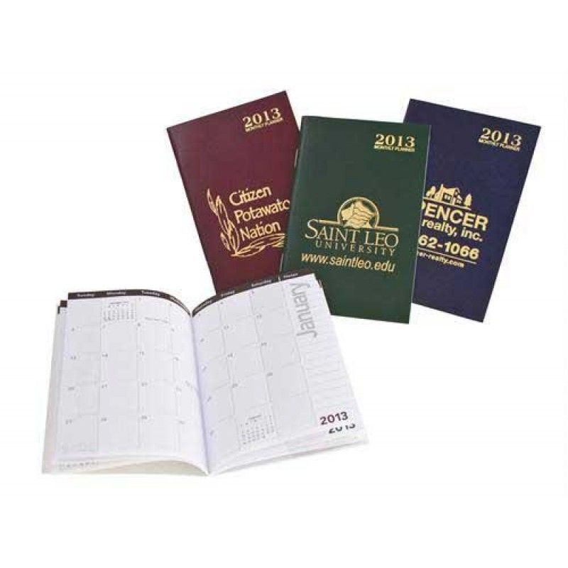 Wholesale ATTACHE COLORS Monthly Planner -[WL-29013]