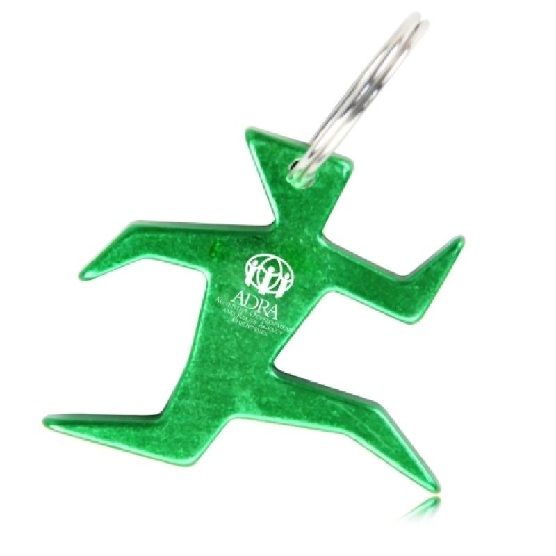 Wholesale Running Man Bottle Opener Keychain