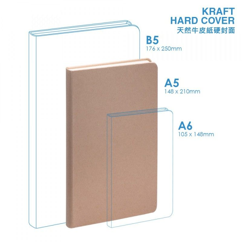 Wholesale Eco A5 Hard Cover Notebook