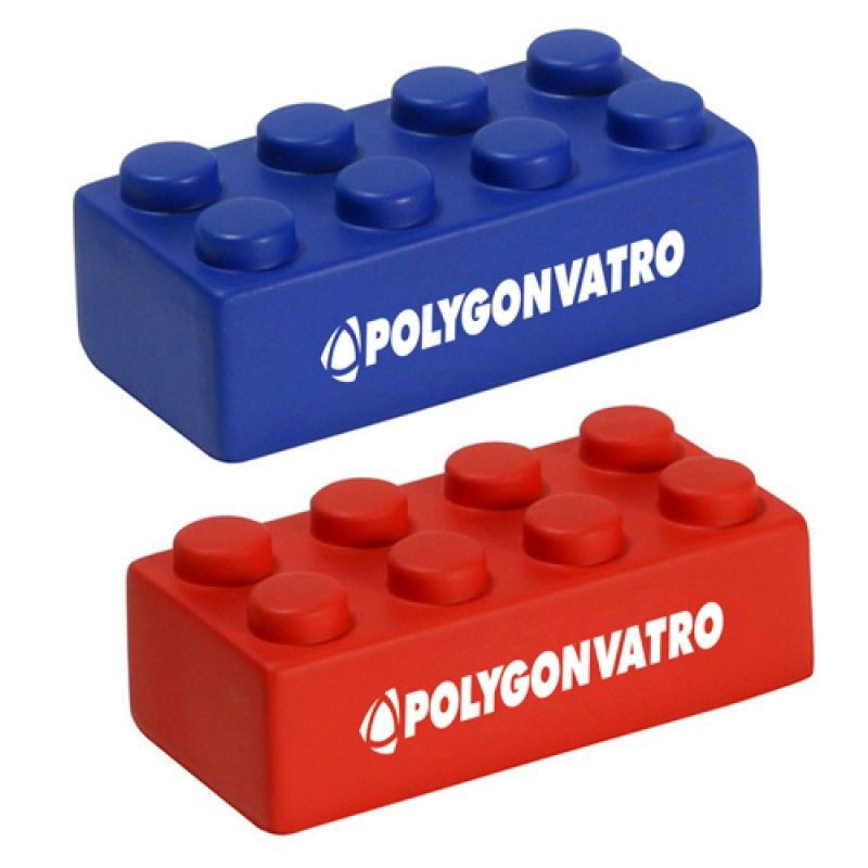 Wholesale Building Block Shaped Stress Reliever