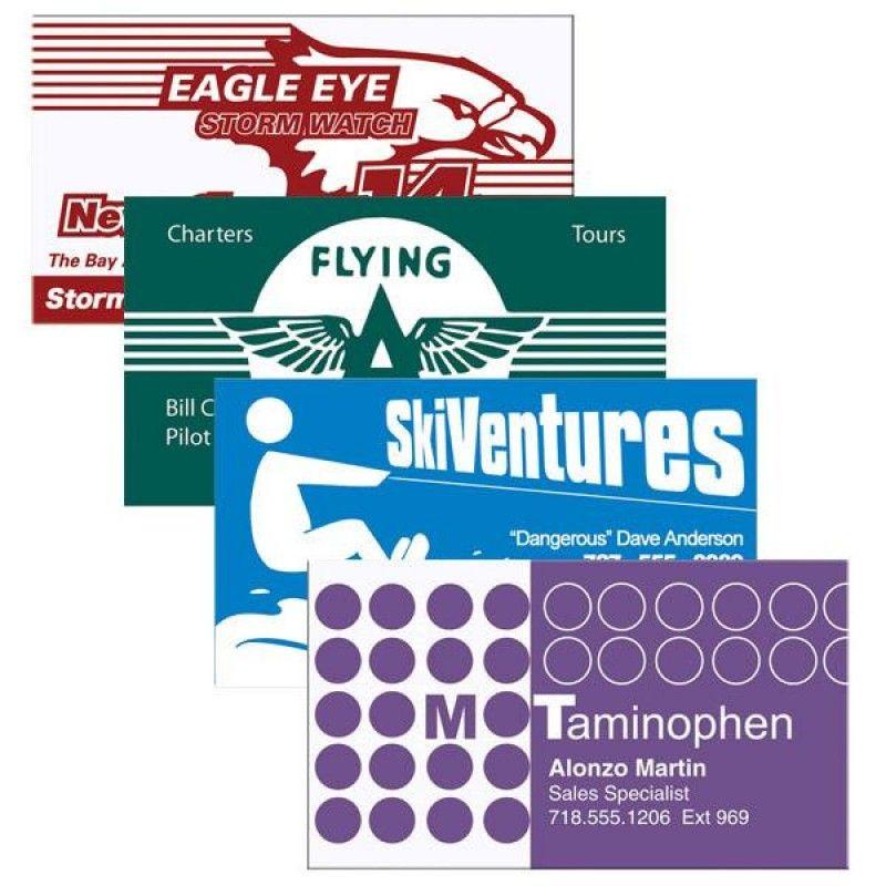 Wholesale Economy Business Card Magnets-[BG-27115]