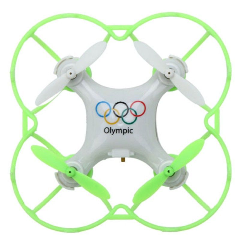 Wholesale 2.4G 4CH 6-Axis Olympic Rings Mini RC Drone Quadrocopter