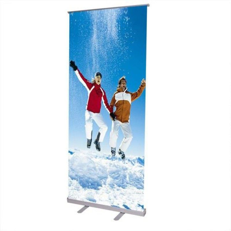 Wholesale Adjustable 32x79 Inch Retractable Roll Up Banner Stand