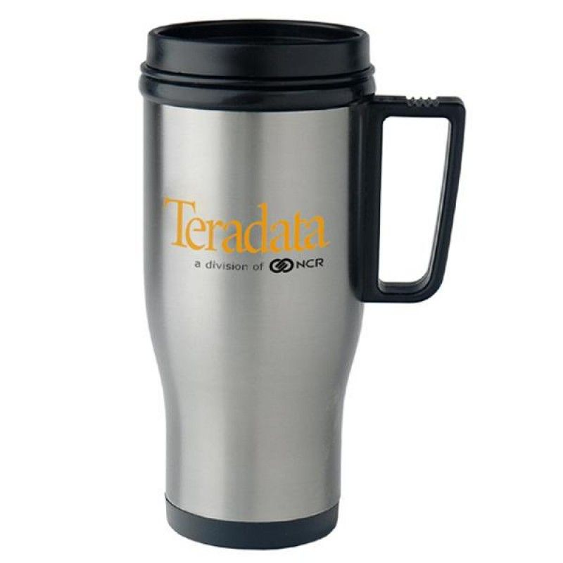 Wholesale 14 oz. Stainless Steel Auto Mate Mug-[CP-28003]