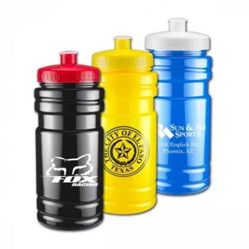 Solid Color 20 oz Surf Bottle with Push/Pull Lid