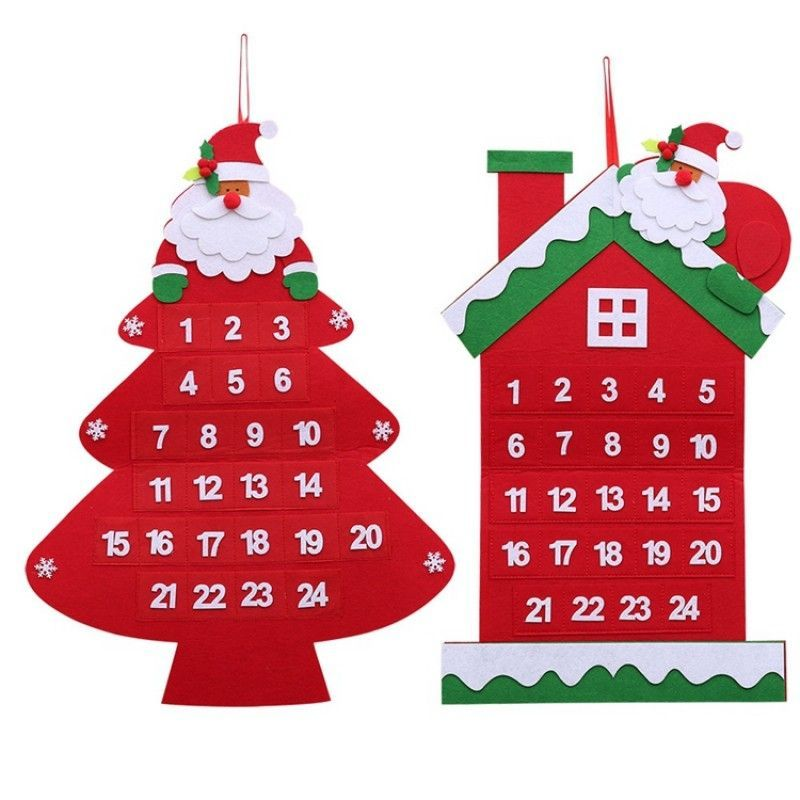 Felt Christmas advent calendar
