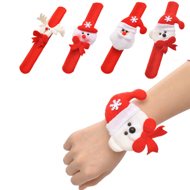 christmas slap bracelet christmas gift for kids