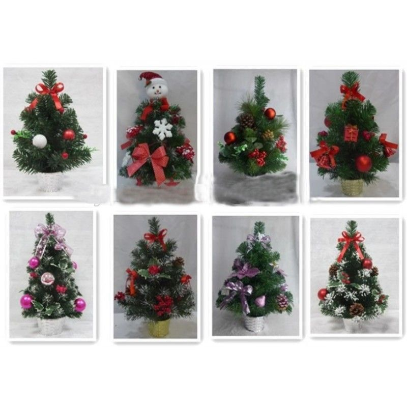 30cm red gift ball decorate mini decorated Christmas tree with hand maked