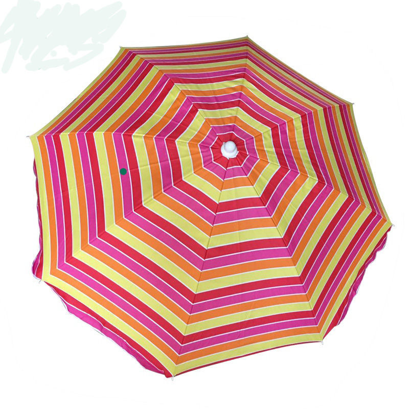 2019 seller weatherproof wholesale promotion large uv sun custom beach umbrella