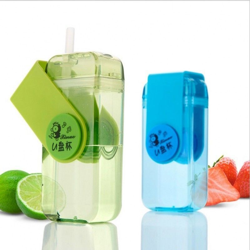 Factory Price BPA Free Water Bottle For Kids Plastic Sports Bottle With Straw