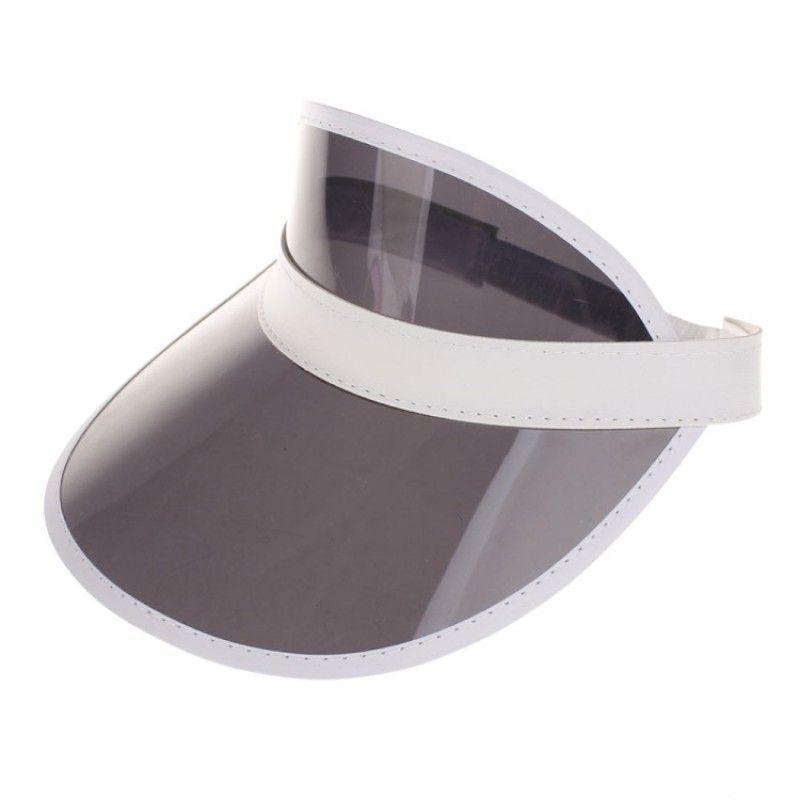 Wholesale UV Visors Cap Custom Plastic Sun Visor Cap