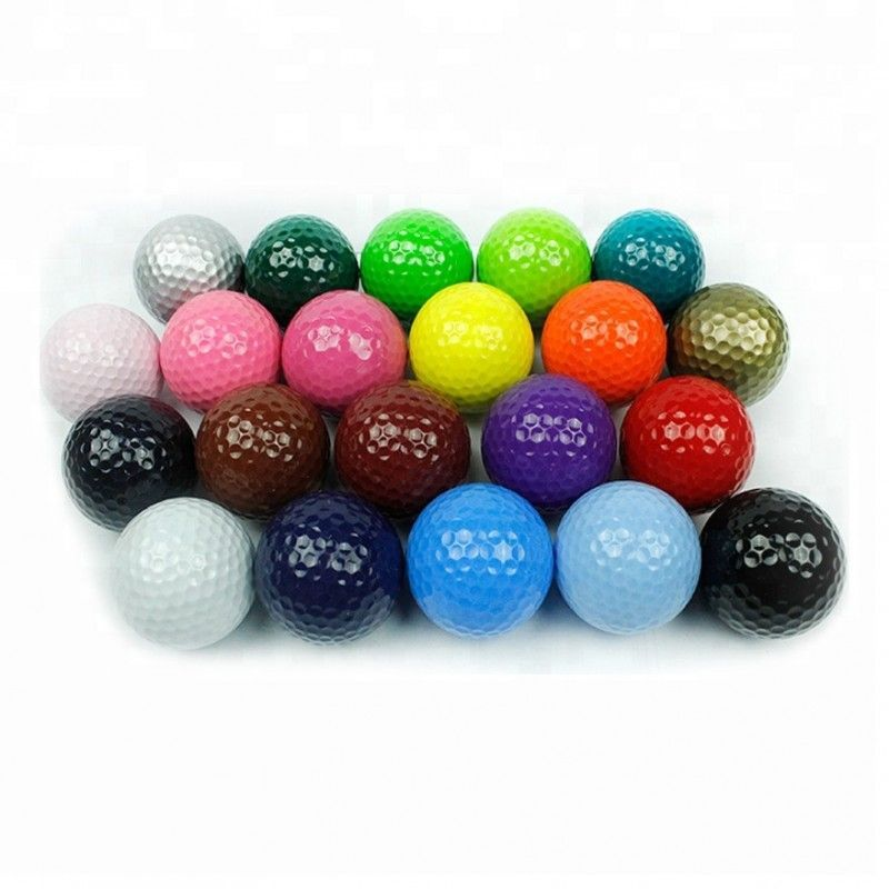 Fashionable hot-sale colorful buy golf ball