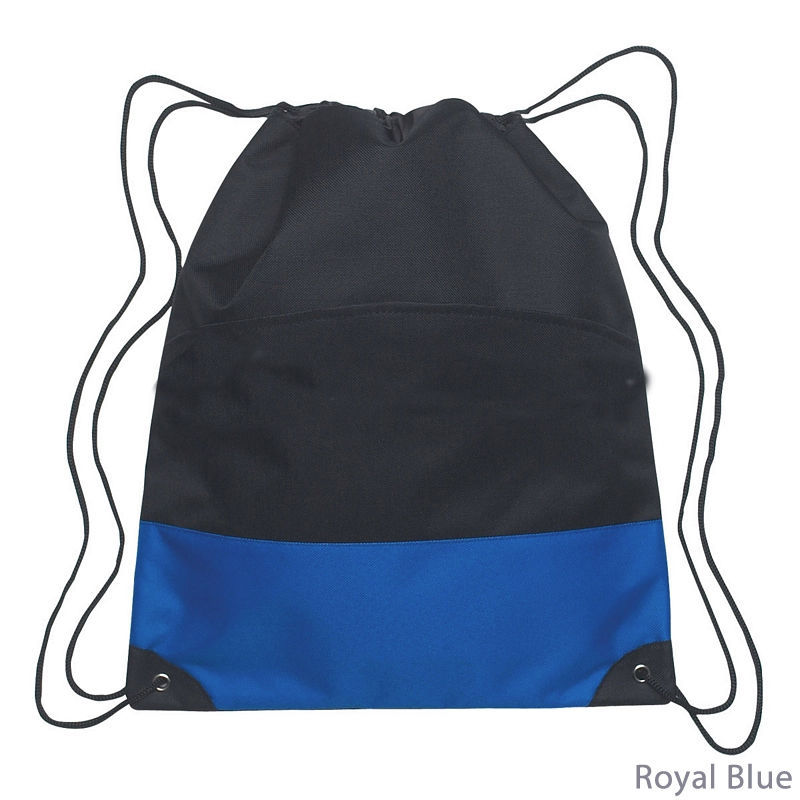 Prop65 Kids Summer Camp And Hiking Nylon Drawstring Backpack With Good Waterproof