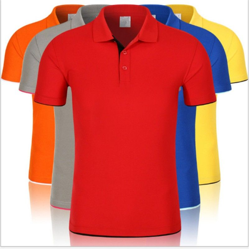 OEM Custom Latest Polo Shirt For Men Colorful 100% Cotton Polo Shirt