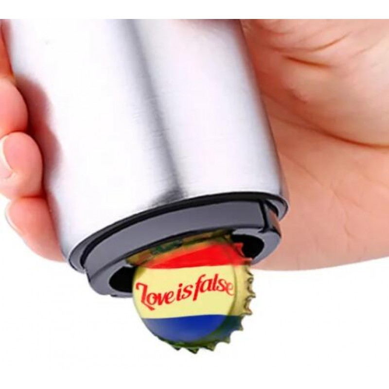 Hot Sale Stainless Steel Auto Bottle Beer Opener