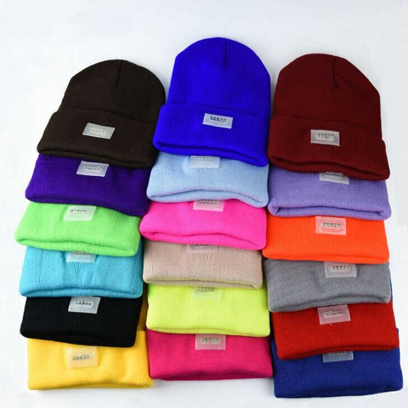 100% Acrylic Knitting led light beanie hat